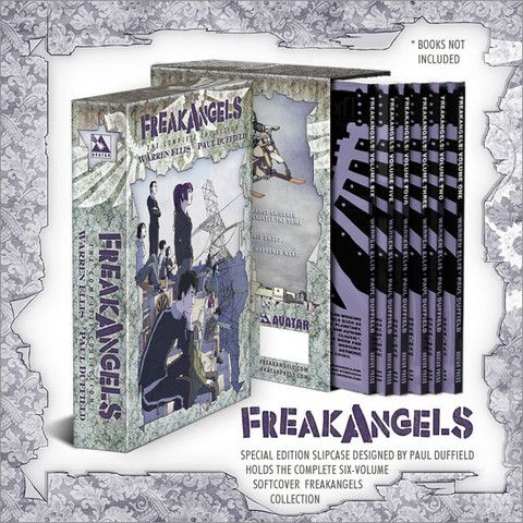 FreakAngels Slipcase