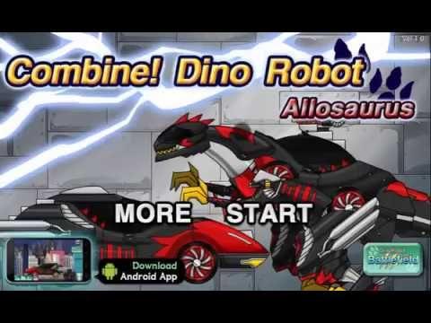 Dino Robot Allosaurus   Action games