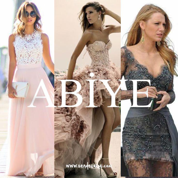 Mezuniyetler ve düğünler yaklaştıkça abiye elbise arayışlarımız da artış gösteriyor. Tarzınıza göre kısa veya uzun modeller seçerken, sade veya işlemeli modeller seçmek de yine sizin zevkinize kalıyor. sendevarmi.com