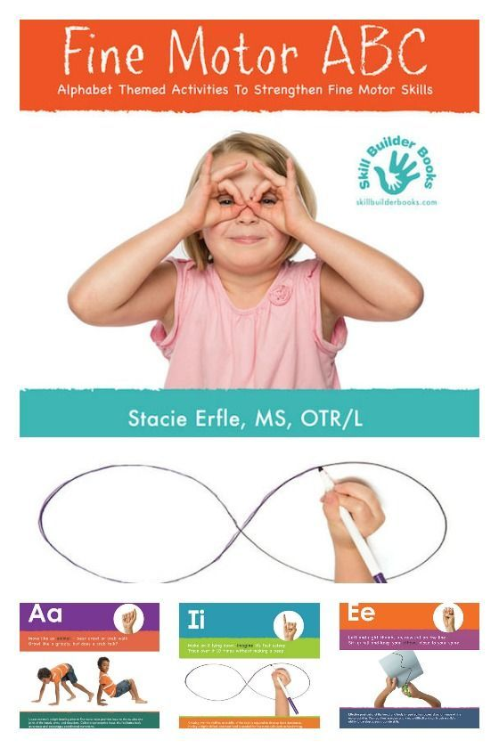 Fine Motor ABC by Stacie Erfle - Kids can strengthen fine motor skills and learn the alphabet in sign language with these alphabet based fine motor activities.  Happy Hooligans