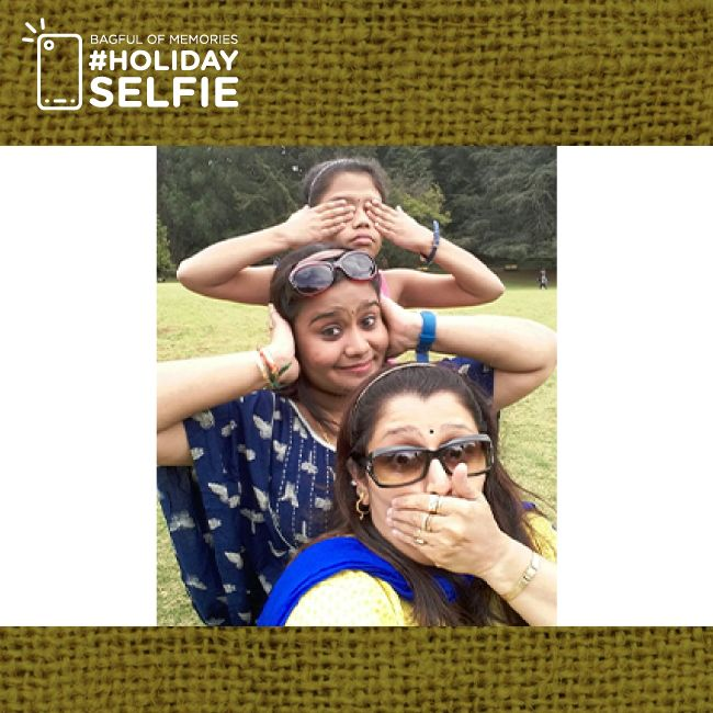 A selfie is never complete without some crazy expressions or a dash of fun. With that thought, Sterling Holidays unfurls the winners of the #holidayselfie for this summer. Today's winner : Sharmila #bagfulofmemories We hope you enjoyed holidaying with us and taking these memorable selfies; with that note Sterling Holidays wishes you the greetings of this happiest summertime. To view all the winners of the #holidayselfie contest, visit http://www.bagfulofmemories.com/winners/