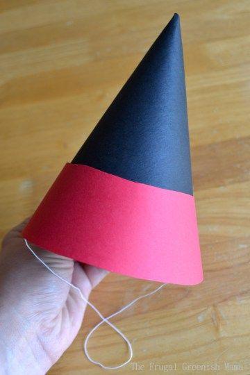 Více než 20 nejlepších nápadů na téma DIY party hat template na - Party Hat Template