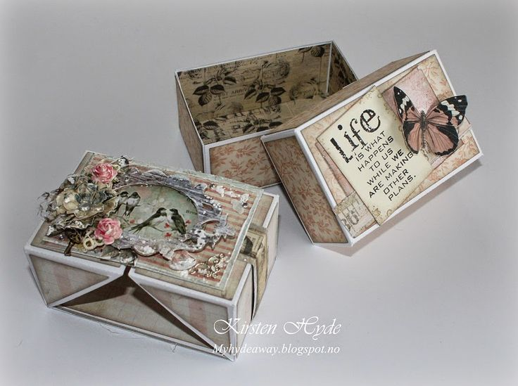 A Prima gift box by Annica Hedberg May 2014 & 375 best Boxes / Bags images on Pinterest   Box bag Boxes and ... Aboutintivar.Com