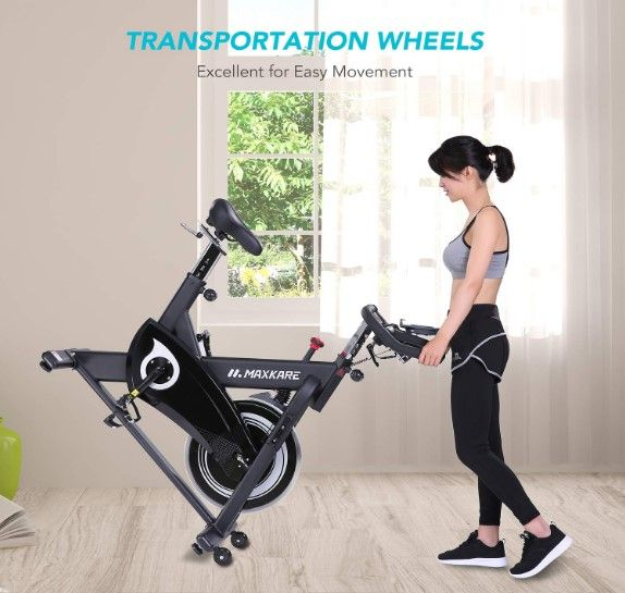 Maxkare Belt Driven Spin Bike Reviews Spin Bike Reviews Bike