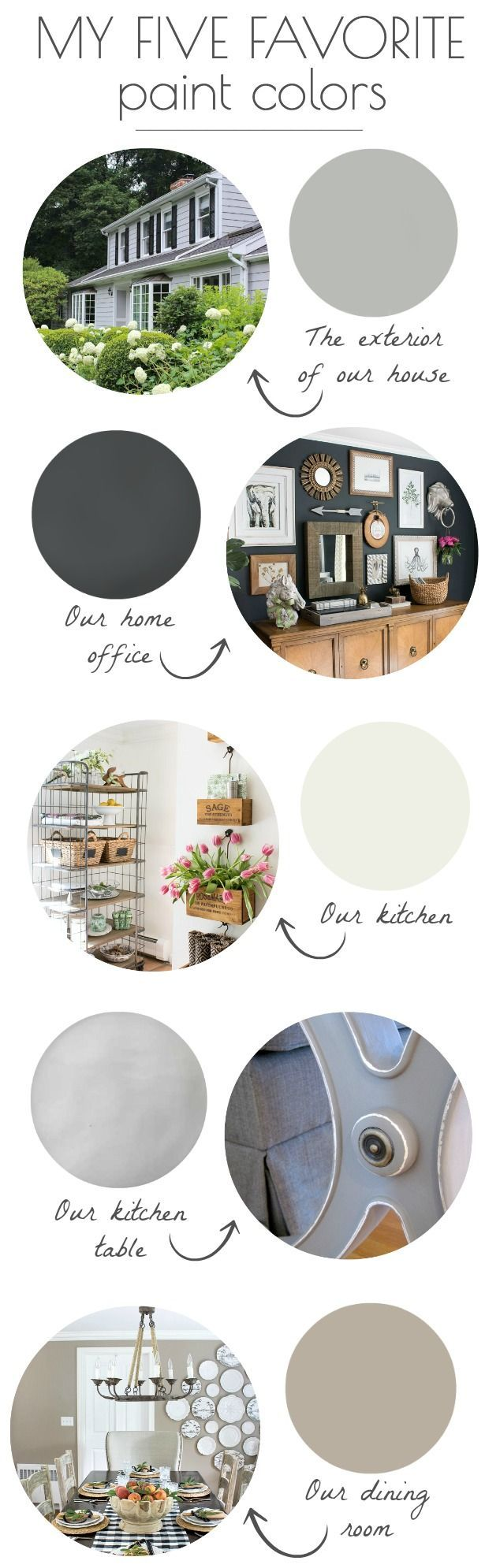 How to paint a vintage buffet home stories a to z - My Five Favorite Paint Colors