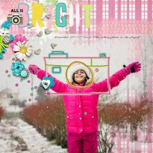 All Is Bright by Rae at The Lilypad using digital scrapbooking products from The Lilypad