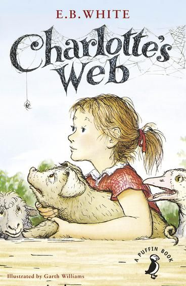 Charlotte's Web, ISBN: 9780141354828 One of the best-loved and best-selling children's novels of all time (written in 1952 by E.B. White), came to the big screen in 1973. The animated film boasted songs written by the Sherman Brothers, the songwriting duo of Mary Poppins and The Jungle Book fame. Like the book, the movie inspired generations of animal lovers and vegetarians. Of course, you may prefer the live-action version from 2006.