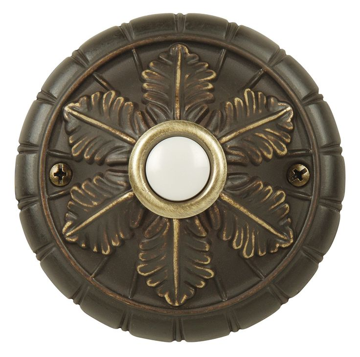 Shop Craftmade BSMED-A Designer Medallion Surface Lighted Push Doorbell Button at ATG Stores.  sc 1 st  Pinterest & Best 25+ Doorbell button ideas on Pinterest | Craftsman outdoor ... pezcame.com