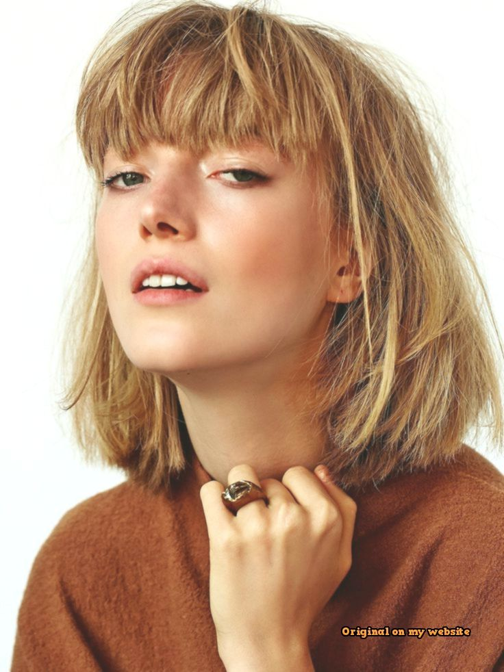 Trends Bob Hairstyles -Super Hairstyles for Pony #hair #dresses #simple hairstyle