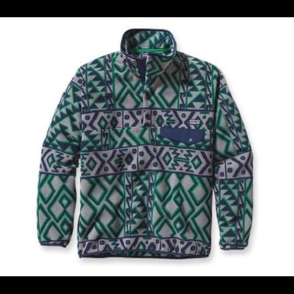 Men's Patagonia fleece pullover Worn only a few times and only washed once. Good condition just too big Patagonia Tops Sweatshirts & Hoodies