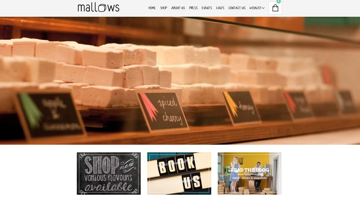 The story of mallows.nl, a great site powered by The Retailer WordPress Theme http://www.getbowtied.com/mallows-handmade-marshmallows-customer-stories/?utm_source=pinterest.com&utm_medium=social&utm_content=mallows&utm_campaign=customer-stories #customers #stories #WordPress #websites #smallbusiness #marshmallows #sweets #ecommerce #testimonials #gourmet #handmadesweets