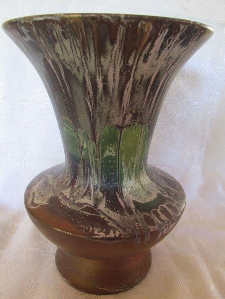 Large Ellis Vase Unusual Colourway Australian Pottery Aus Pottery    eBay