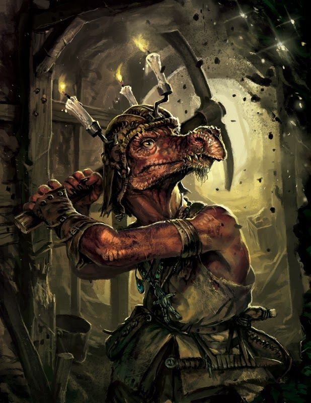 Guido Kuip: Advanced Races: Kobolds - Kobold Press Pathfinder RPG