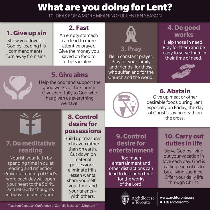 What are you doing for #Lent? Here are 10 ideas for a more meaningful Lenten season. #ashwednesday #catholic