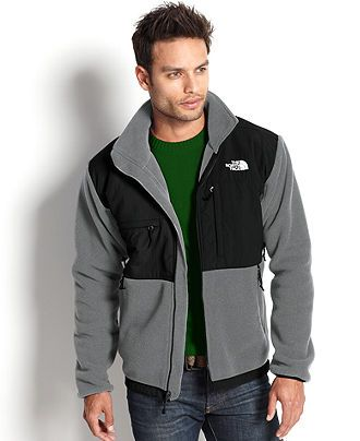 The North Face Big and Tall Jackets, Denali Polartec Fleece Jacket - Big & Tall Activewear - Men - Macy's