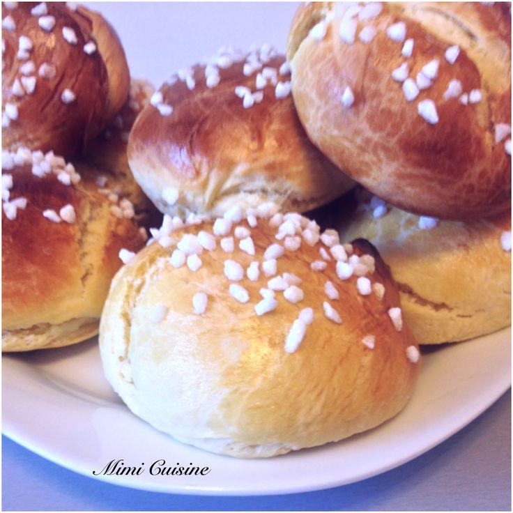 Briochettes à la fleur d'oranger Recette Companion - Mimi Cuisine