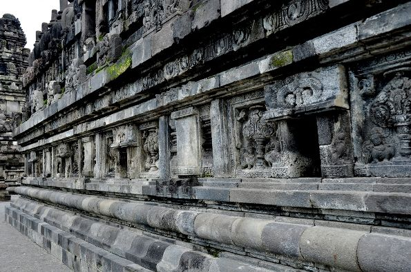 Reliefs on Prambanan temple in Central Java #Reliefs #Prambanan #temple #CentralJava  http://traveling-forever.com/