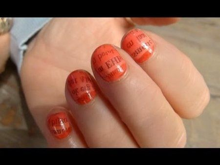 Ombre Newspaper Nails Tutorial + Winactie Nagellak Pakket! #Essie #ombrenails #nailart #tutorial #howto