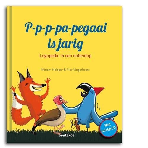 Papegaai is jarig - Boek met luisterCD