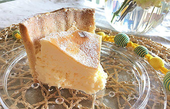 チーズのおいしさを引き立てる隠し味が使われた、一味違うチーズケーキ!