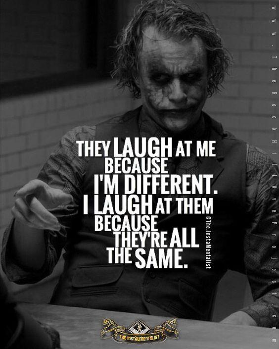 Afbeeldingsresultaat voor joker quotes