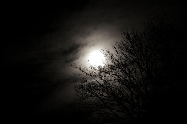 Full Moon In Warsaw Autumn 2015