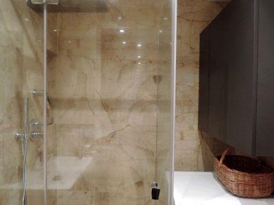 Mieszkanie prywatne - Sosnowiec - Fragment łazienki