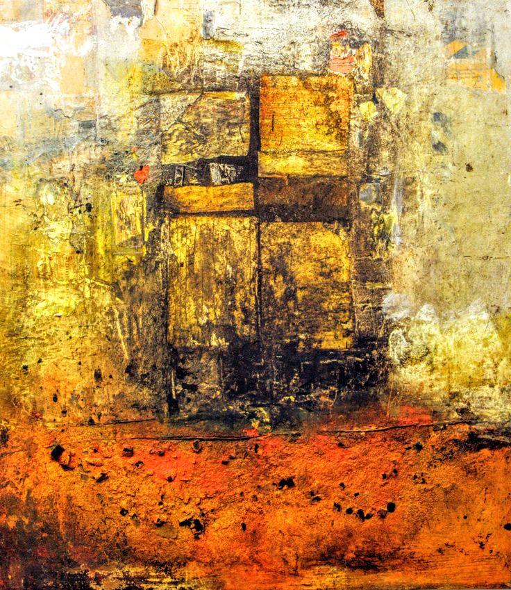 Peinture de Mehdi Bourkia, réminiscences