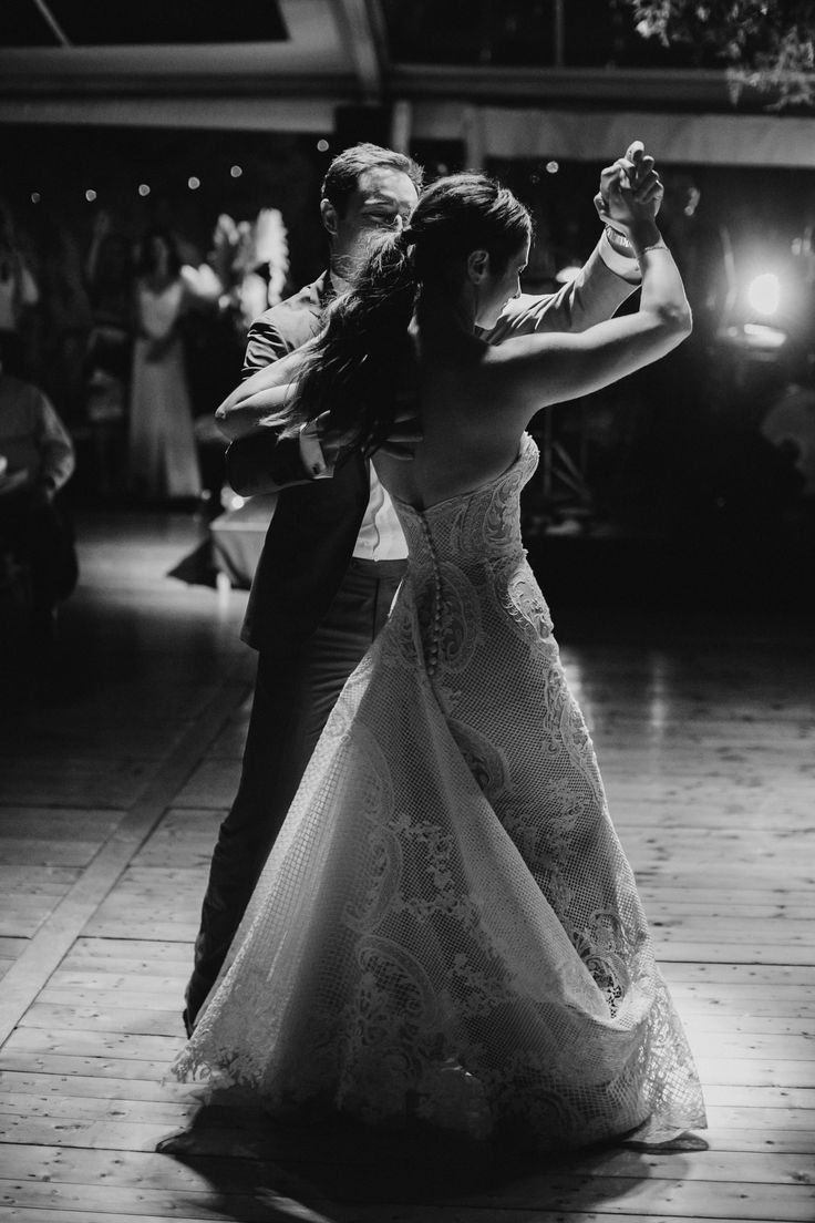 Romantic bridal waltz