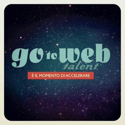 Che gioia :) Sono stata selezionata come #Web giurato di #gotowebtalent :) ci sarai anche tu? Per info www.gotowebtalent.com