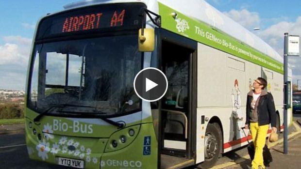Une ligne de bus qui fonctionne au biogaz a été inaugurée la semaine dernière au Royaume-Uni