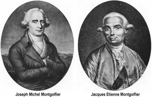 De broers Montgolfier    Uitvinders van de heteluchtballon