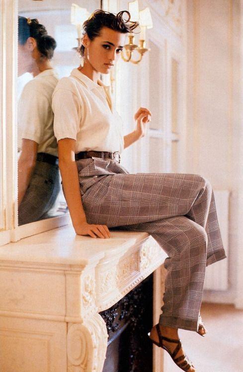 Yasmin Le Bon for Vogue Paris by Pamela Hanson, March 1988