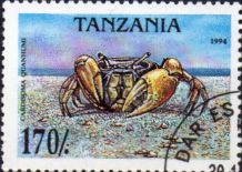 Tanzania 1994 Crabs SG 1987 Fine Used SG 1987 Scott 1298