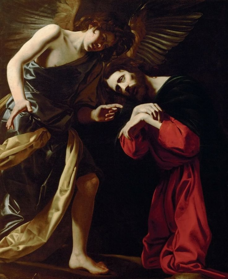 Giovanni Battista Caracciolo, called Battistello (Naples, 1578-1635), Christ on the Mount of Olives  (Fear of Death), 1615-17, Kunsthistorishes Museum Vienna