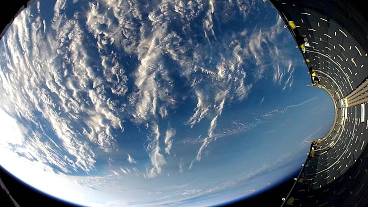 Falling Back to Earth | HD Footage From Space -  vid 1min54sec.