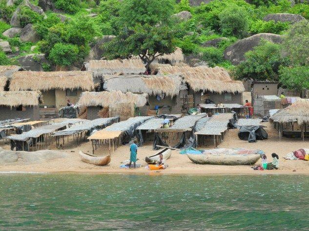 Capenta dry racks - Lake Malawi
