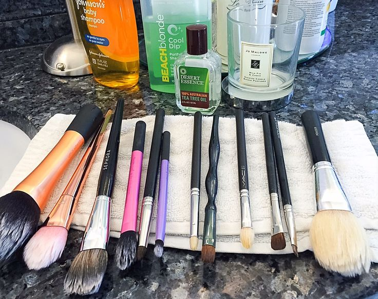 How to Clean Your Makeup Brushes and Make your Own