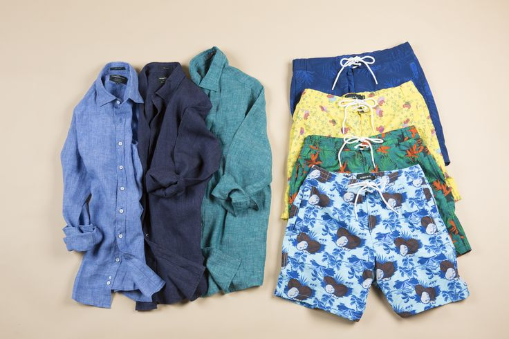 Rodd & Gunn crafts their summer shirts and swim shorts from high quality materials. These are essential clothes for this summer