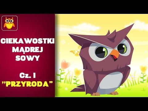 Ciekawostki Mądrej Sowy - PRZYRODA #1 - YouTube