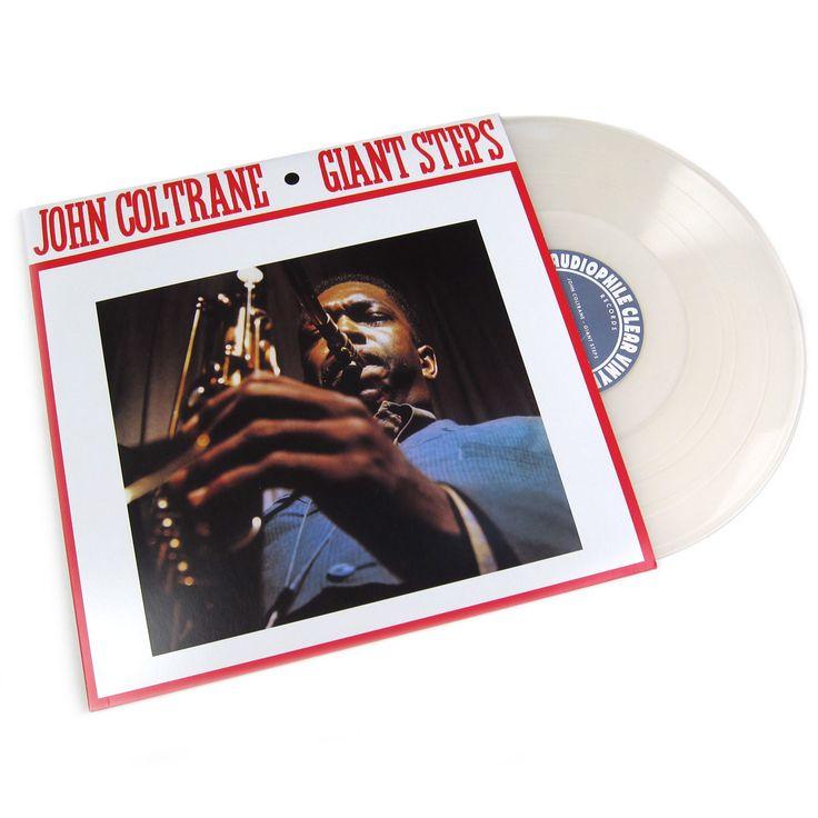 John Coltrane Giant Steps Audiophile Clear Vinyl Acv