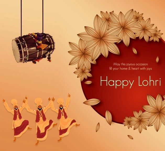 Happy Lohri Wishes 2018: Lohri Messages, Happy Lohri  Regards UD