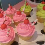 Just want to drink up these yummy looking cupcakes
