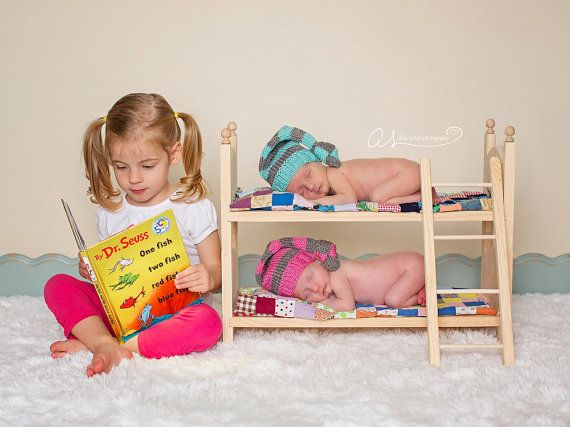 Diy newborn twins photography prop small by acraftersnook on etsy