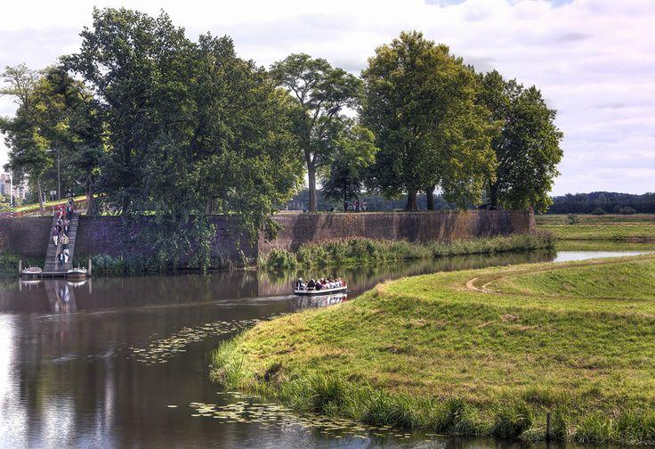 Bastion Oranje werd in 1634 als onderdeel van de Bossche vestingwerken gebouwd. (fotograaf Henk van Zeeland)