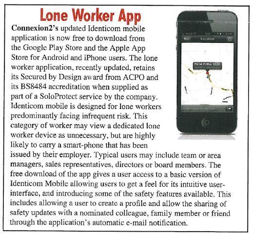 Lone Worker App