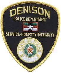 Denison TX. police patch