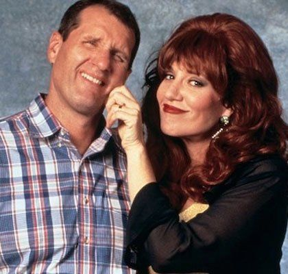 Ed O'Neil (Al) and Katie Sagal (Peg) - Married With Children