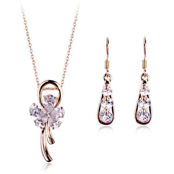Оптовая продажа ювелирных изделий мода африканский свадебный комплект ювелирных изделий кристалл индийский комплект ювелирных изделий для женщин