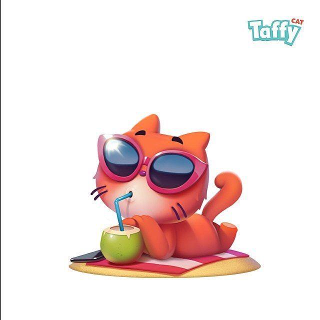 #dmnart #stickers #taffycat #cat #cute #cartoon #imessage my new sticker pack on the new Appstore for iMessage нужен толковый аниматор чтоб работать над совместными проектами. Пишите в директ